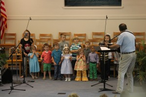 Pastor and Kids Choir
