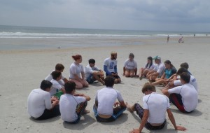 Youth at Surf Camp